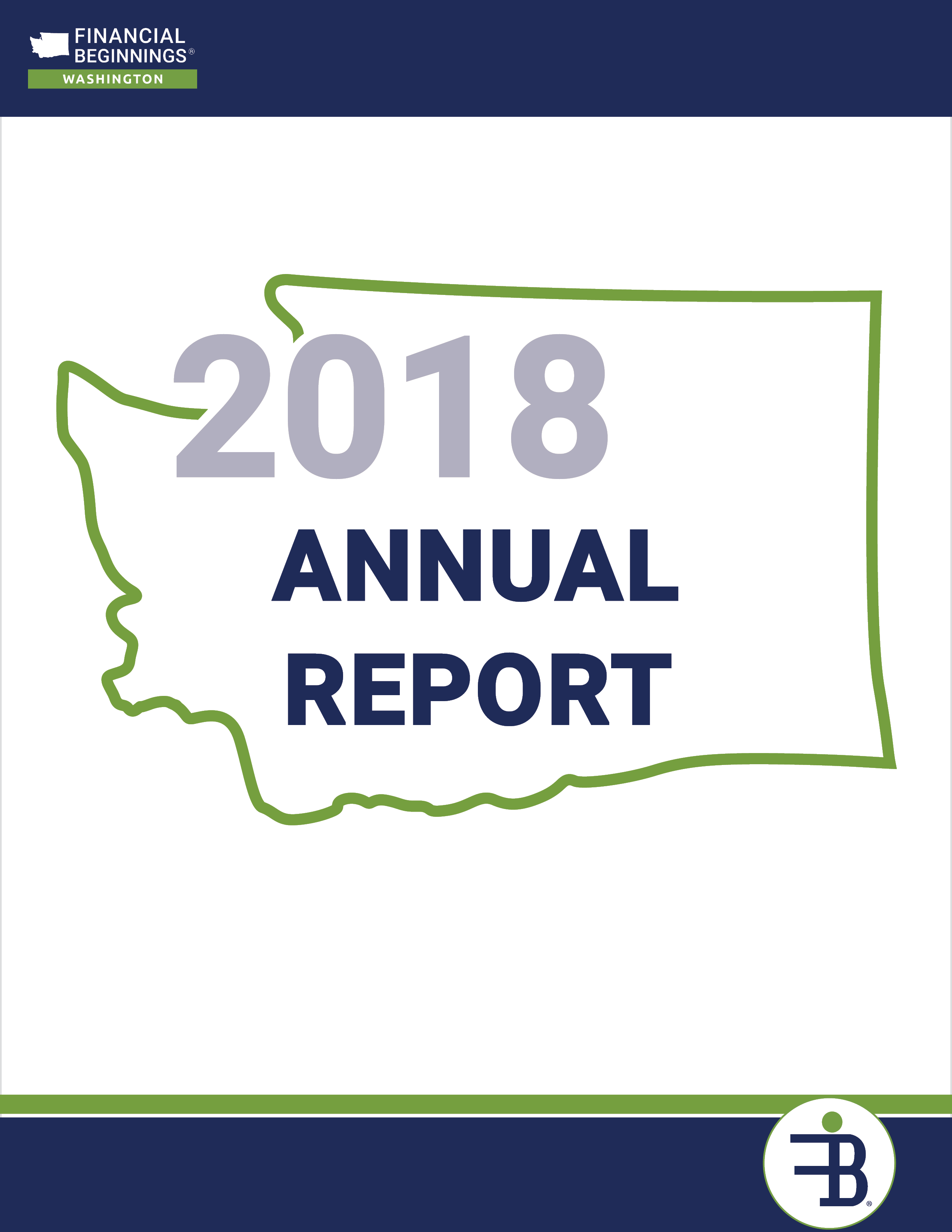 Financial Beginnings Washington 2018 Annual Report